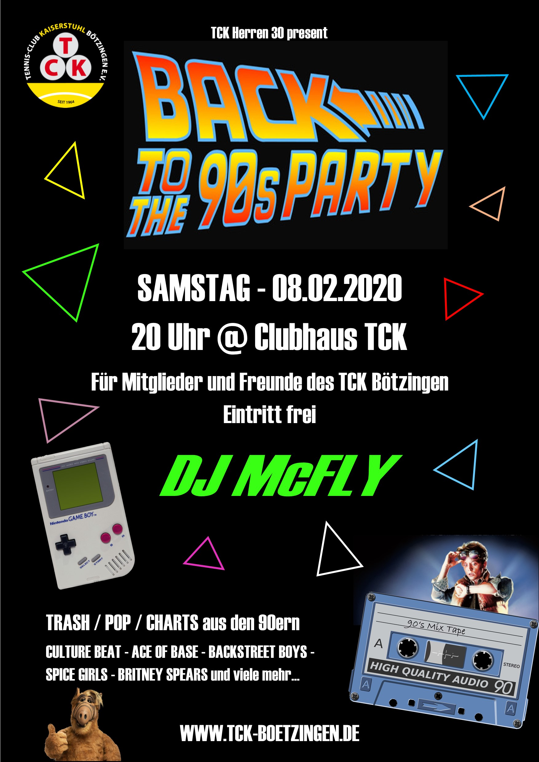 Back to the 90s Party 150 dpi